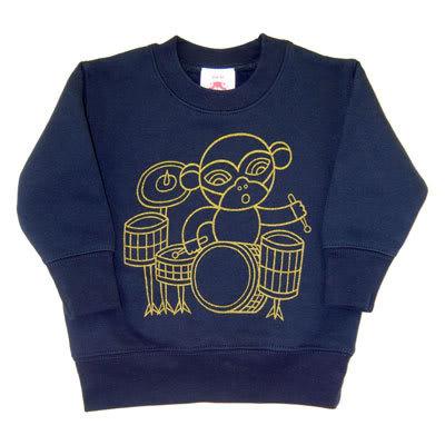 The Monkey Drummer