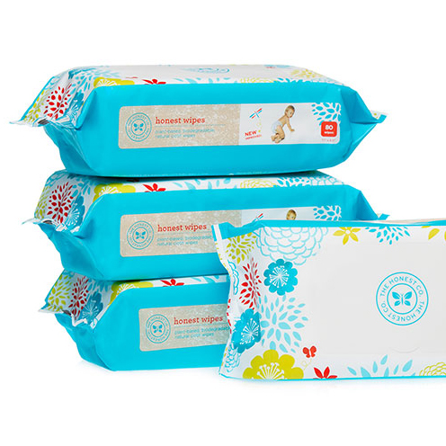 Natural Diaper wipes bundle from Honest