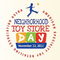 Neighborhood Toy Store Day – go forth and buy toys!