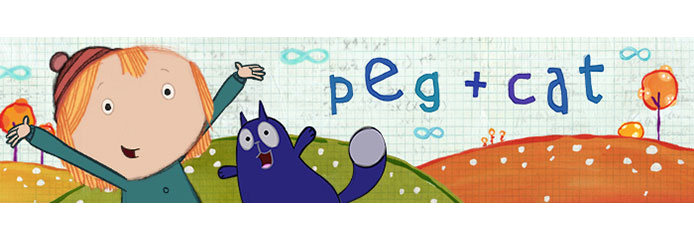 PEG + CAT adds up to a fun, smart math-based series for preschoolers