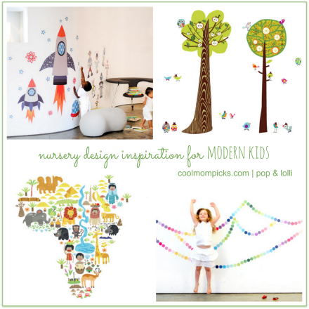 4 nursery themes for the coolest kids' rooms