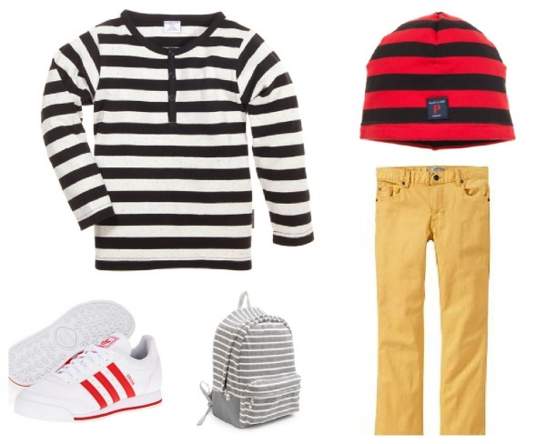The most wearable spring trend for your kids: big bold stripes. (And a chance to win $1000!)