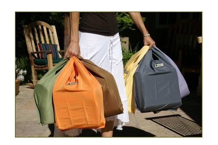 Eco bags with a brain