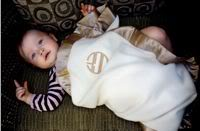 A naturally gorgeous blanket for your naturally gorgeous baby