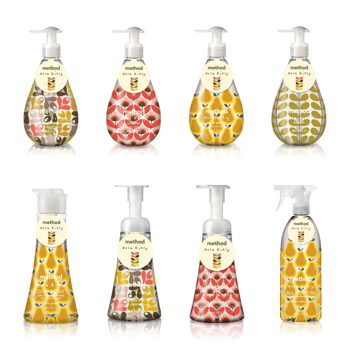 Orla Kiely + method = Cool Mom Picks dream collaboration