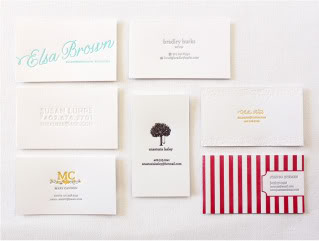 Paper Lovely's new calling cards are calling my name