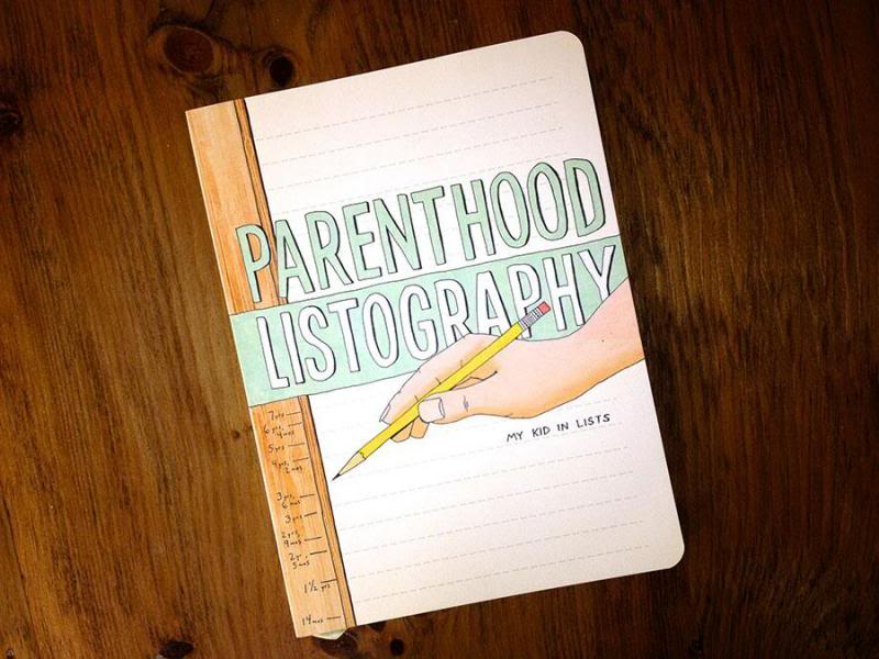Parenthood Listography: It's a baby book, it's a parenting keepsake journal, and it's hilarious