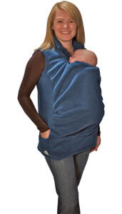 Babywearing with utter and complete warmth–for both of you