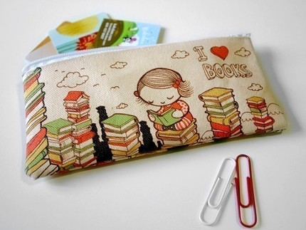Pencil cases for the bookish