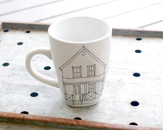 Home is where the mug is. (Or mug is where the home is?)