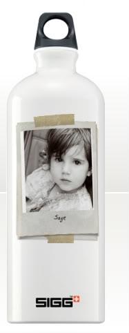 Custom Sigg bottles at Cafe Press. Copyright: You.