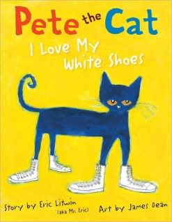 Why I love Pete's white shoes