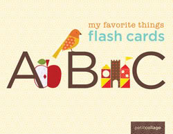 A few of my favorite things, now in flashcard form