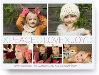 Beautiful holiday photo cards that are easy to make. So you might actually send them.