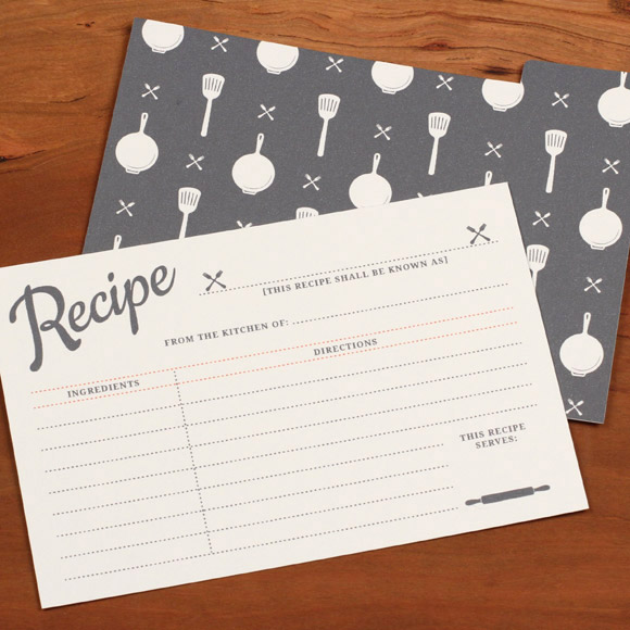 free recipe card printables that blend classic design with modern technology