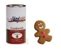 The Lazy Baker makes a gingerbread man that is easy to catch