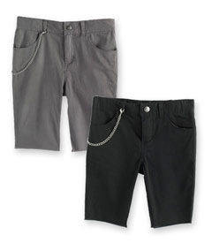 Punk rock shorts for stylin' skater boys
