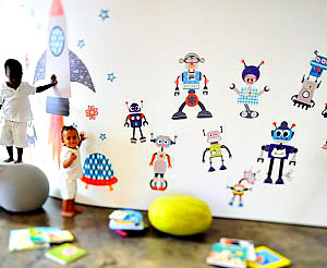 Build your own adorable robot army without a single wrench