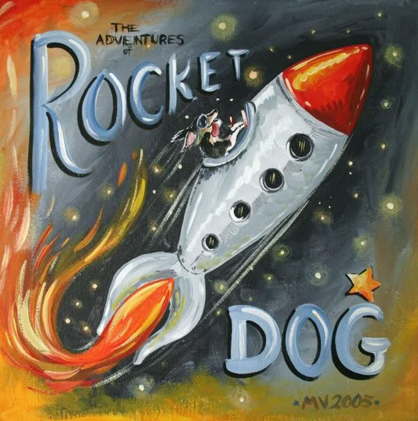 Rocket Dog, Burning Out His Fuse Out Here Alone