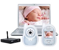 Sassy Web Watch iC: A video baby monitor for the truly obsessed.
