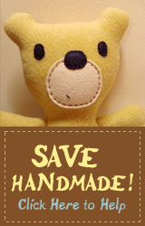 Last day to vote – Save handmade from the CPSIA