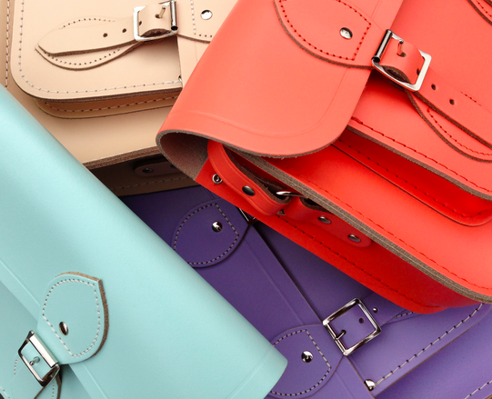 Spring hits the Cambridge Satchel Company and we're in love all over again