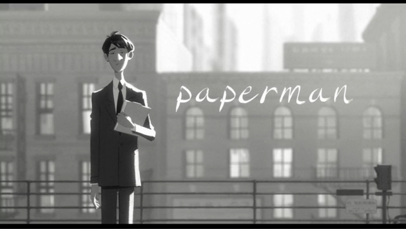 Congrats to the Oscars 2013 best animated short: Paperman