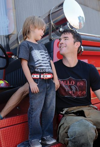 Cool kids' belts crafted from fire hoses (plus proceeds help firefighters)