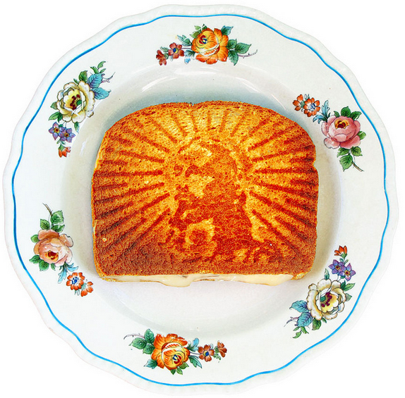 Forget the Easter Ham. Enjoy a Grilled Cheesus.