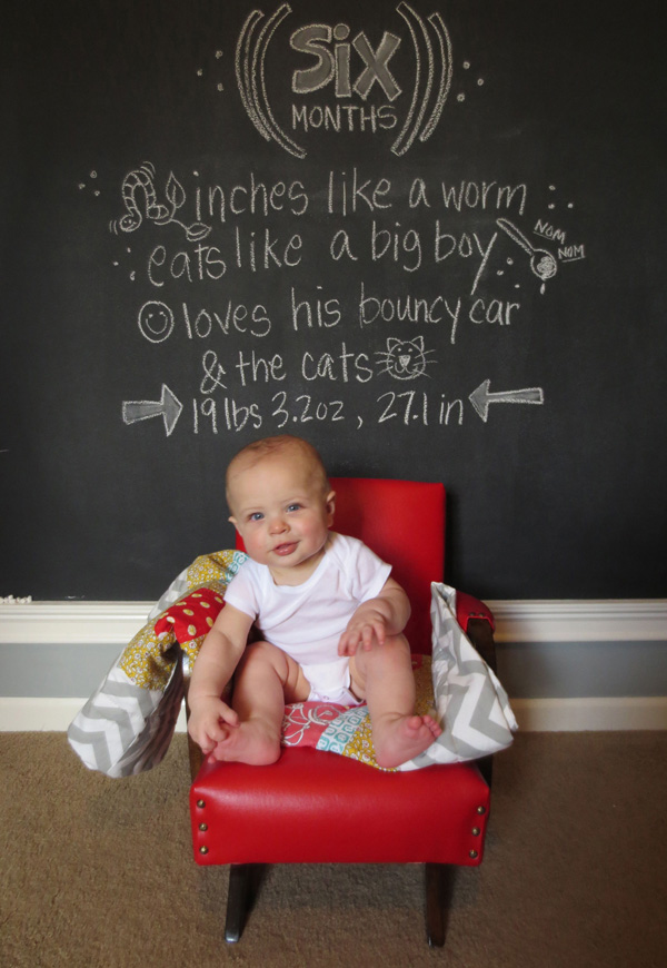 Forget the baby book: 6 creative ways to document baby\u0027s first year in photos.