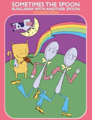 A progressive coloring book for progressive kids