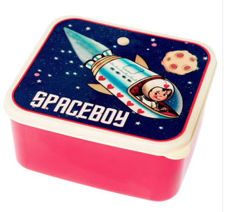 Space boy to the rescue! Or…to the lunchroom!