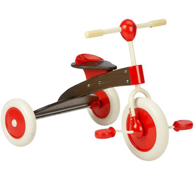 Tax Day Splurge: Italian Tricycles the Grown-Ups Will Covet Too
