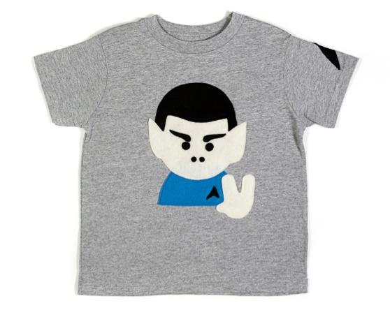 Geek-tastic babies, your wardrobe awaits.
