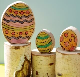 Easter eggs, hold the sugar high