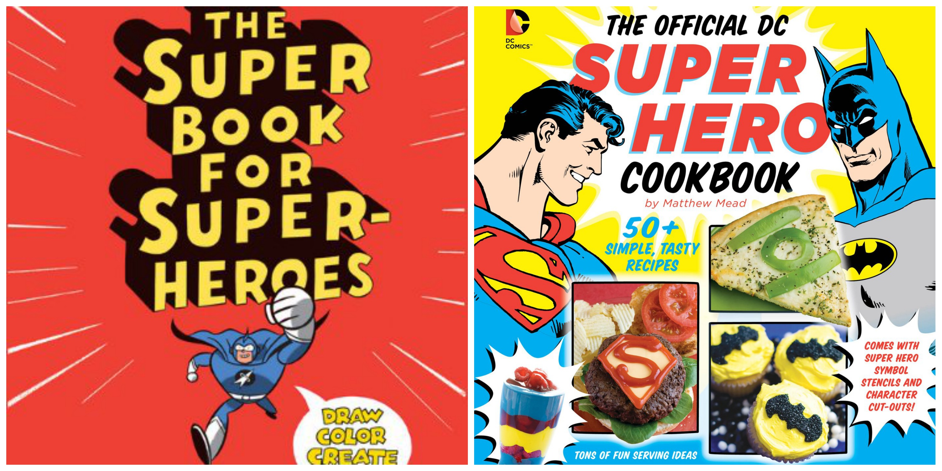Two super new superhero books for your little caped crusaders