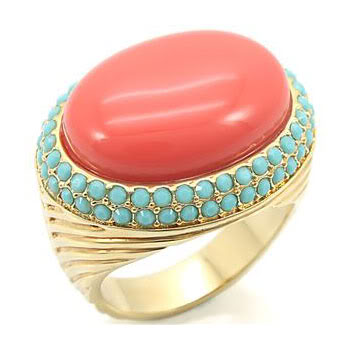 5 crazy colorful cocktail rings under $50