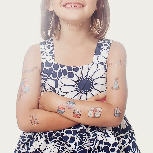 Temporary tattoos, now delivered to your door every month