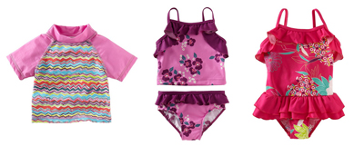 What snow? Think swim! Tea Collection debuts girls' swimwear line