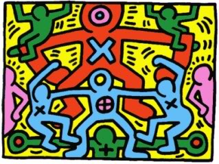 Turns out Keith Haring's art can teach kids about more than just art