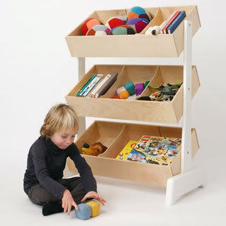 Toy storage for when your whole house feels like toy storage