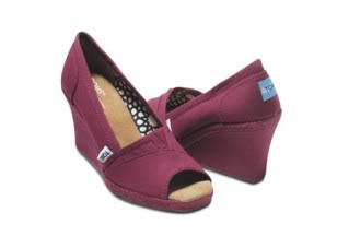 TOMS Wedges – Now for Fall