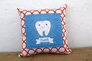 You don't have to love fairies to love this tooth fairy pillow