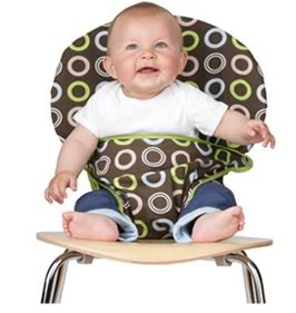 Totseat – the washable, squashable high chair
