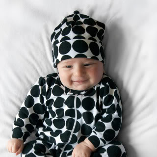 Cute clothes patterned to catch your baby's eye