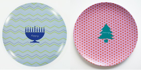 Serve up some very happy holidays with personalized plates