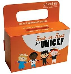Trick or Treating for UNICEF is sweet