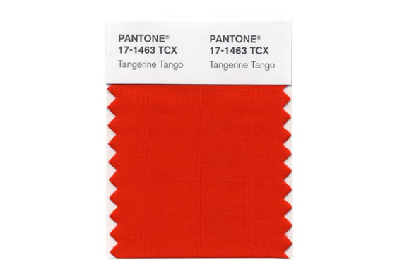 Crushing on Pantone's color of the year: Tangerine Tango
