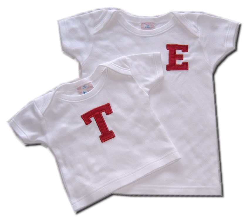 Lettering in Toddler Fashion