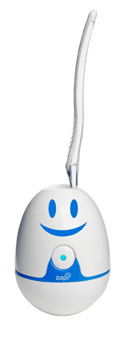 Toothbrush sanitizer and adorable – two phrases not often heard together.